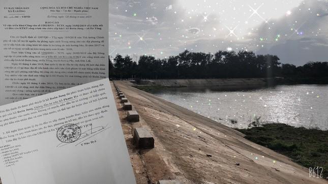 Cận cảnh dự án cải tạo hồ huyện có dấu hiệu lừa dối tỉnh ảnh 4