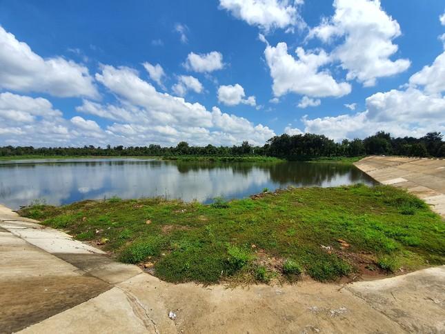 Cận cảnh dự án cải tạo hồ huyện có dấu hiệu lừa dối tỉnh ảnh 2