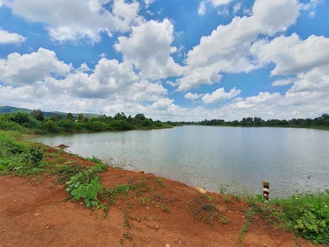 Cận cảnh dự án cải tạo hồ huyện có dấu hiệu lừa dối tỉnh ảnh 5