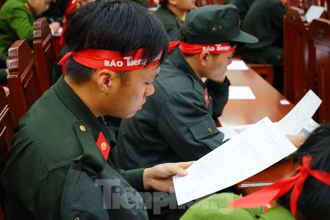 Chủ nhật Đỏ tại Công an tỉnh Đắk Lắk: Nhà tu hành, người dân vào hiến máu ảnh 12