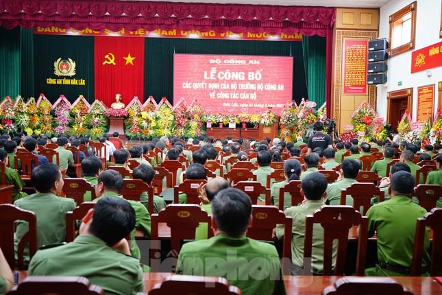 Giám đốc CA Đắk Lắk về làm Phó chủ nhiệm thường trực UBKT Đảng ủy Công an trung ương ảnh 5