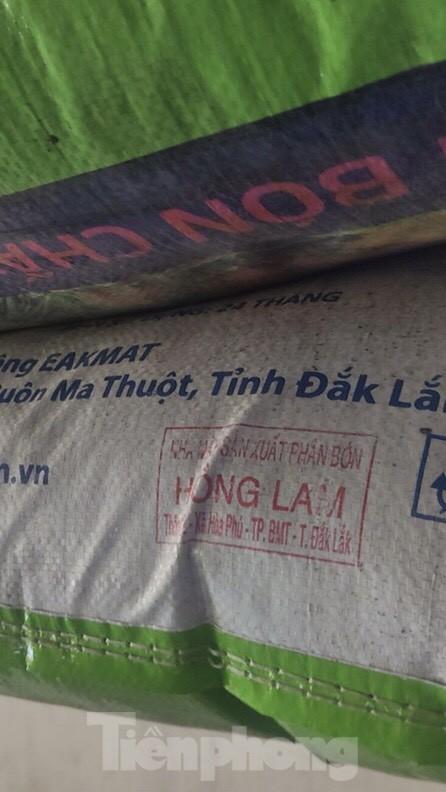 Phân bón trái phép tái xuất ở Đắk Lắk ảnh 1