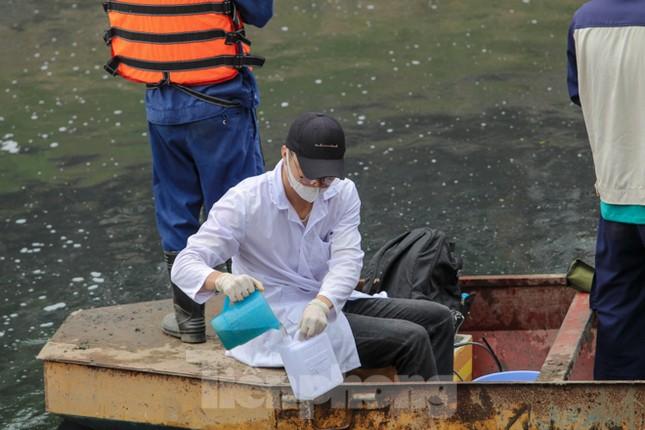 Bắt đầu xử lý bùn sông Tô Lịch thành khí CO2 bằng 'bảo bối' Nhật ảnh 11