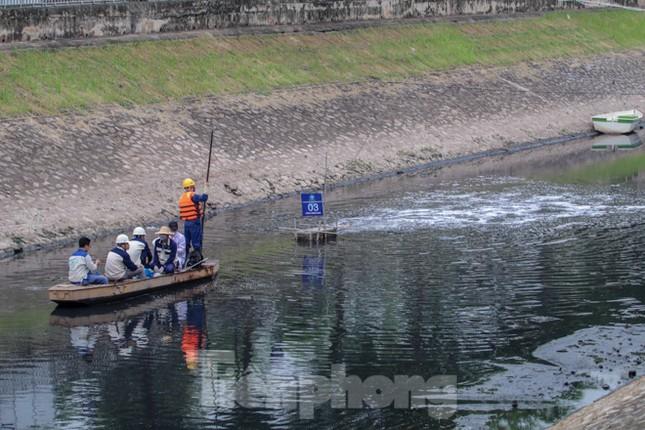 Bắt đầu xử lý bùn sông Tô Lịch thành khí CO2 bằng 'bảo bối' Nhật ảnh 2