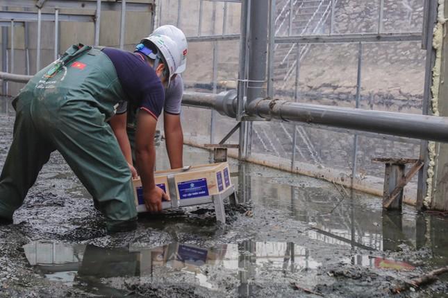 Bắt đầu xử lý bùn sông Tô Lịch thành khí CO2 bằng 'bảo bối' Nhật ảnh 6
