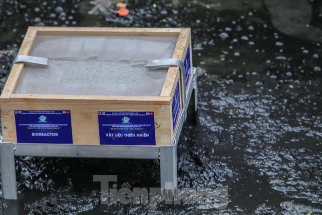 Bắt đầu xử lý bùn sông Tô Lịch thành khí CO2 bằng 'bảo bối' Nhật ảnh 7