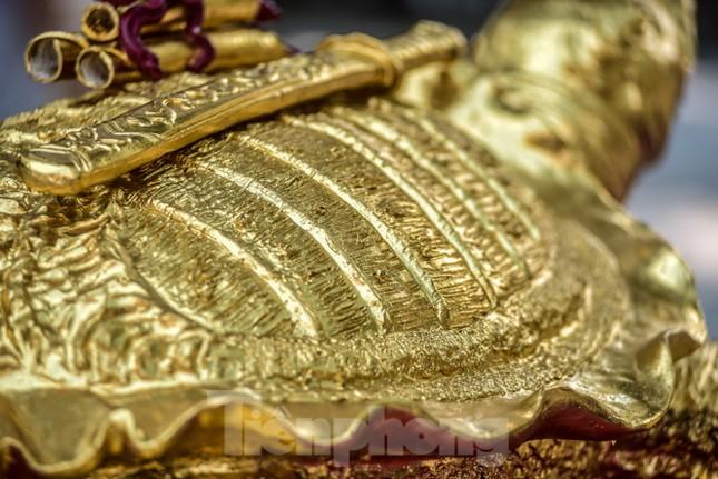 Tận thấy 'cụ rùa Hồ Gươm' khổng lồ được mạ vàng 9999 ảnh 3
