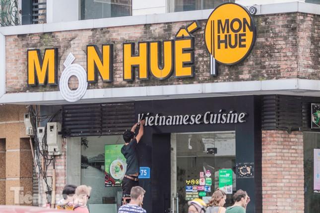 Sau TPHCM, chuỗi cửa hàng Món Huế ở Hà Nội cũng đóng cửa hàng loạt ảnh 10