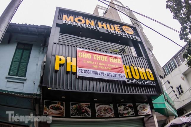 Sau TPHCM, chuỗi cửa hàng Món Huế ở Hà Nội cũng đóng cửa hàng loạt ảnh 11