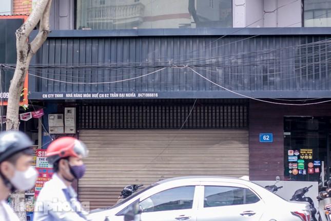 Sau TPHCM, chuỗi cửa hàng Món Huế ở Hà Nội cũng đóng cửa hàng loạt ảnh 5