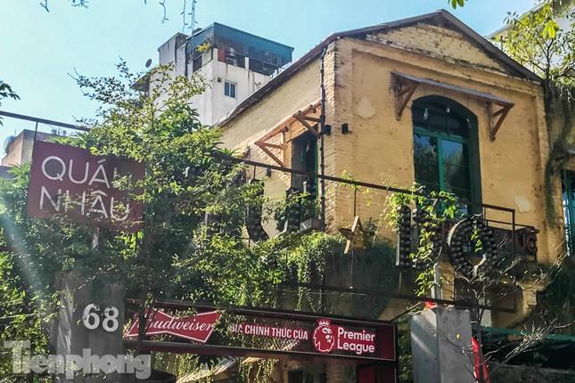 Biệt thự cổ Hà Nội thi nhau thành nhà hàng, quán nhậu ảnh 10
