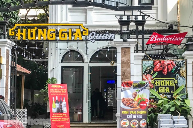 Biệt thự cổ Hà Nội thi nhau thành nhà hàng, quán nhậu ảnh 6