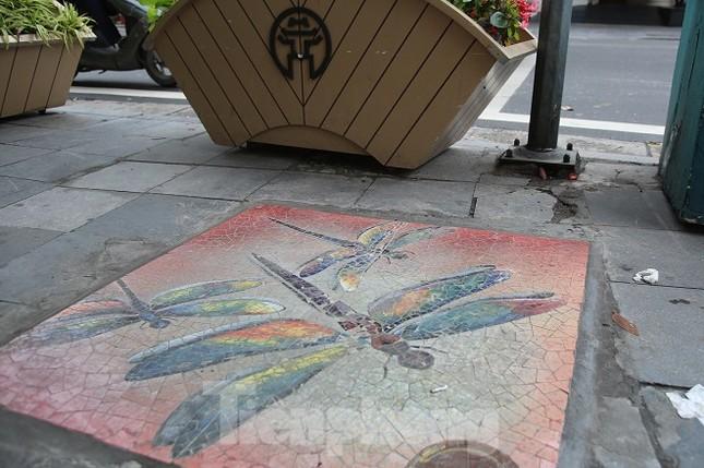 Bức tranh nghệ thuật trên nắp cống, hố ga ở Hà Nội ảnh 7