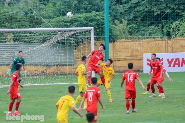 Lấy điểm với thầy Park, U22 Việt Nam đấu tập mà như đánh trận ảnh 13