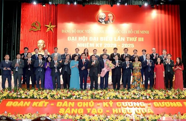 Ông Nguyễn Xuân Thắng tái đắc cử Bí thư Đảng ủy Học viện Chính trị Quốc gia Hồ Chí Minh ảnh 2