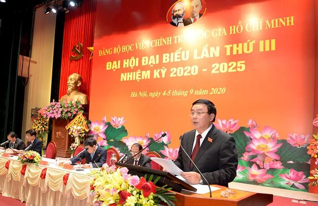 Ông Nguyễn Xuân Thắng tái đắc cử Bí thư Đảng ủy Học viện Chính trị Quốc gia Hồ Chí Minh ảnh 3