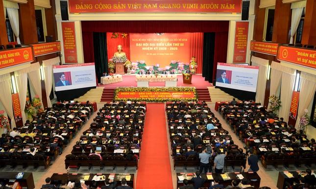 Ông Nguyễn Xuân Thắng tái đắc cử Bí thư Đảng ủy Học viện Chính trị Quốc gia Hồ Chí Minh ảnh 1
