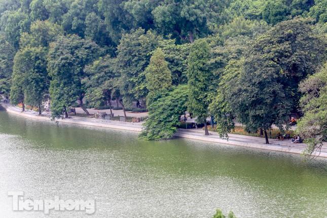 Diện mạo Hồ Gươm thay đổi ra sao trước ngày 'về đích'? ảnh 2