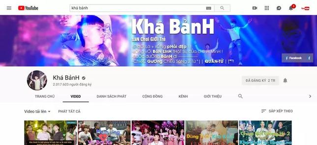 Bộ công an yêu cầu gỡ bỏ các kênh YouTube của Khá 'Bảnh', Dũng 'Trọc' ảnh 1