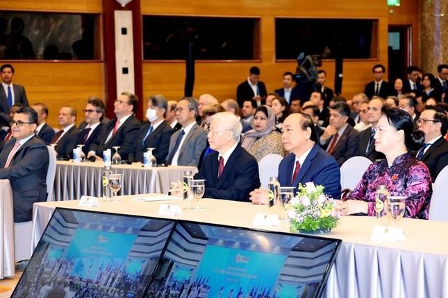 Hình ảnh Tổng Bí thư, Chủ tịch nước Nguyễn Phú Trọng dự Lễ khai mạc ASEAN 37 ảnh 5