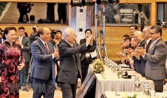 Hình ảnh Tổng Bí thư, Chủ tịch nước Nguyễn Phú Trọng dự Lễ khai mạc ASEAN 37 ảnh 6