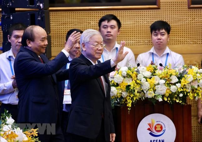 Hình ảnh Tổng Bí thư, Chủ tịch nước Nguyễn Phú Trọng dự Lễ khai mạc ASEAN 37 ảnh 7