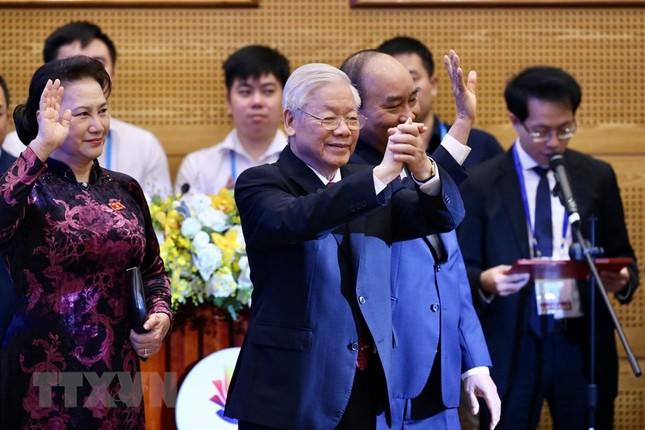Hình ảnh Tổng Bí thư, Chủ tịch nước Nguyễn Phú Trọng dự Lễ khai mạc ASEAN 37 ảnh 8
