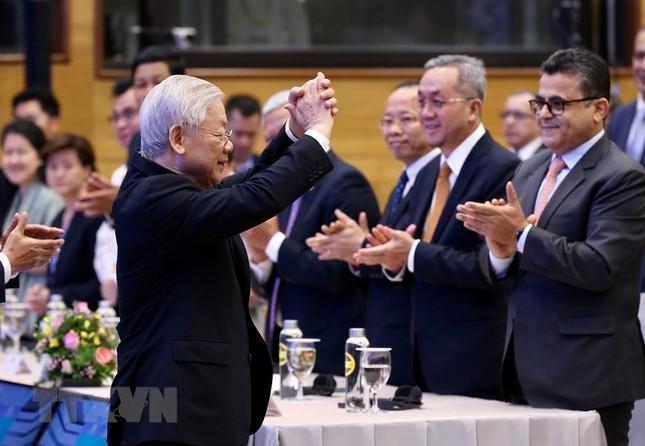 Hình ảnh Tổng Bí thư, Chủ tịch nước Nguyễn Phú Trọng dự Lễ khai mạc ASEAN 37 ảnh 9