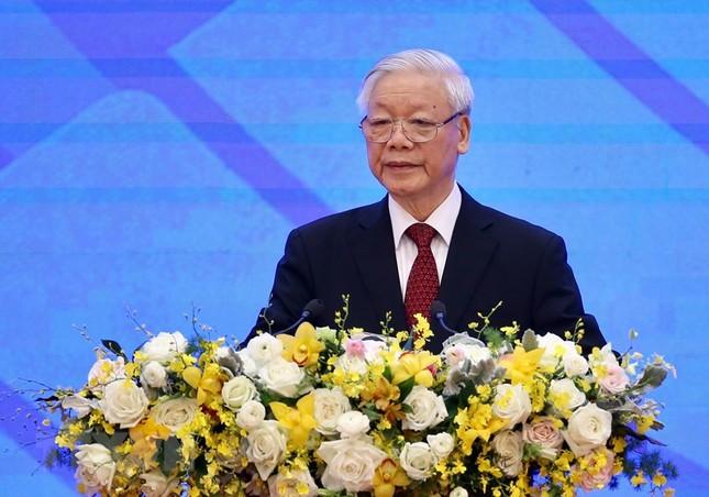 Hình ảnh Tổng Bí thư, Chủ tịch nước Nguyễn Phú Trọng dự Lễ khai mạc ASEAN 37 ảnh 1
