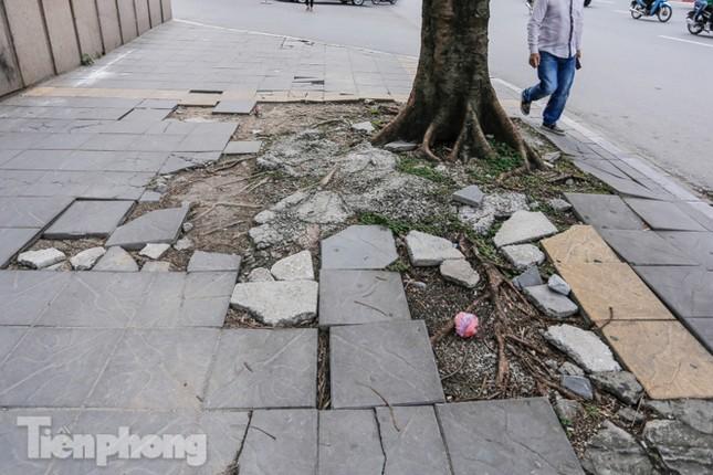 Sau ba năm lát, đá 'độ bền 70 năm' và gạch vỉa hè nhiều nơi vỡ nát ảnh 8