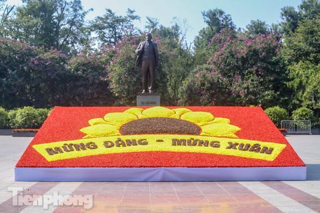 Hà Nội rực rỡ hoa chào mừng Đại hội Đảng lần thứ XIII ảnh 13