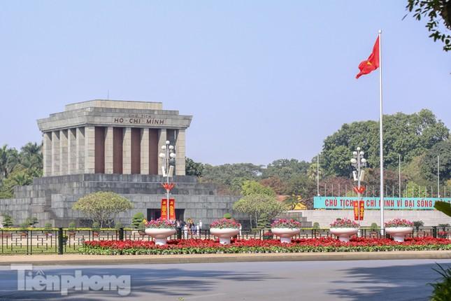 Hà Nội rực rỡ hoa chào mừng Đại hội Đảng lần thứ XIII ảnh 15