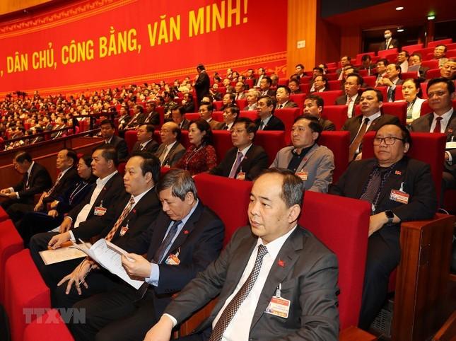 Cận cảnh phiên thảo luận các văn kiện Đại hội XIII của Đảng ảnh 12