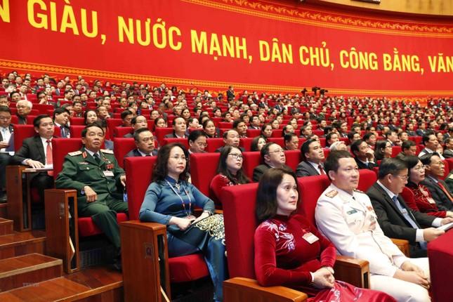 Cận cảnh phiên thảo luận các văn kiện Đại hội XIII của Đảng ảnh 20