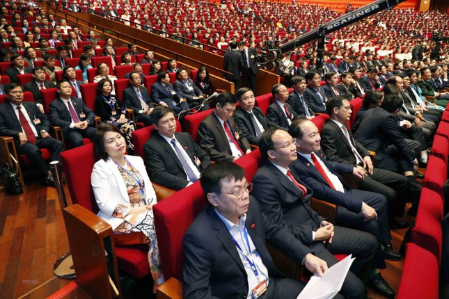 Cận cảnh phiên thảo luận các văn kiện Đại hội XIII của Đảng ảnh 23