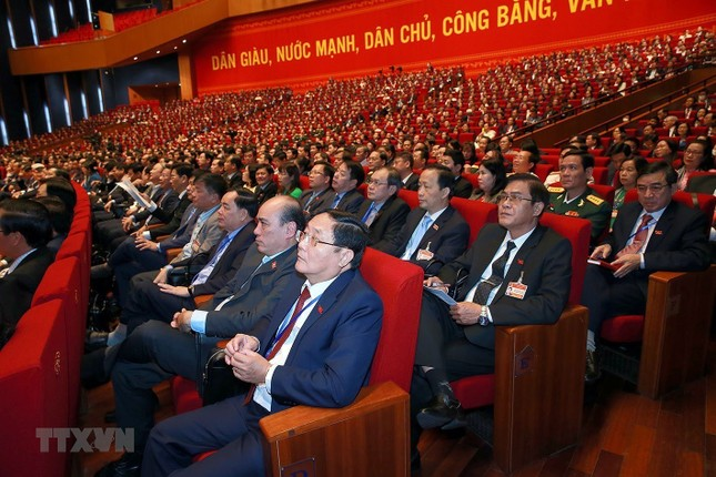 Cận cảnh phiên thảo luận các văn kiện Đại hội XIII của Đảng ảnh 25