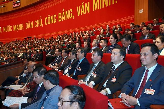 Cận cảnh phiên thảo luận các văn kiện Đại hội XIII của Đảng ảnh 27