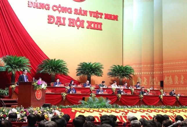 Cận cảnh phiên thảo luận các văn kiện Đại hội XIII của Đảng ảnh 2