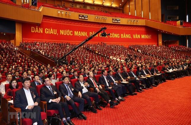 Cận cảnh phiên thảo luận các văn kiện Đại hội XIII của Đảng ảnh 6