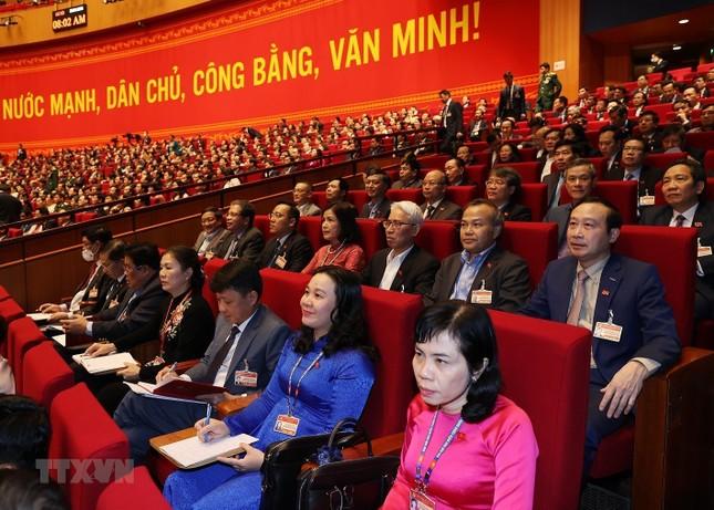 Cận cảnh phiên thảo luận các văn kiện Đại hội XIII của Đảng ảnh 10