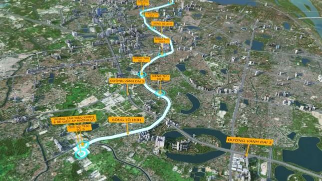 Đề xuất làm cao tốc ngầm dọc sông Tô Lịch có khả thi? ảnh 1
