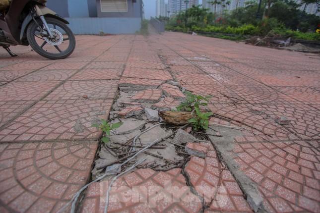 Khu chung cư tọa lạc vị trí 'đắc địa' ở Hà Nội thành nơi tập kết rác ảnh 11