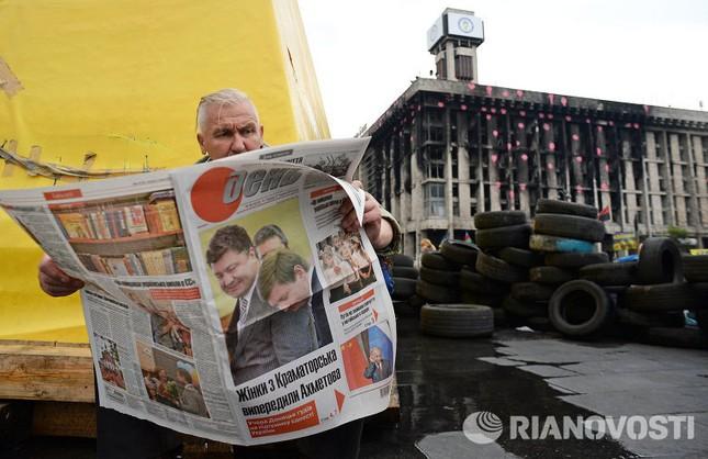 Một ngày trước cuộc bầu cử Tổng thống Ukraine ảnh 8