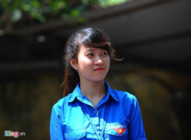 Dàn nữ sinh tình nguyện xinh đẹp của HV Hành chính ảnh 10