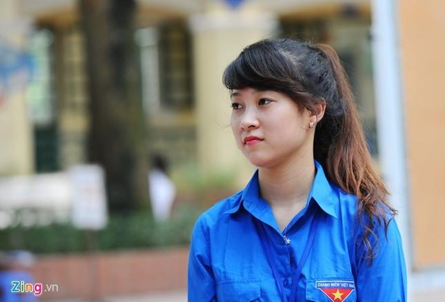 Dàn nữ sinh tình nguyện xinh đẹp của HV Hành chính ảnh 6