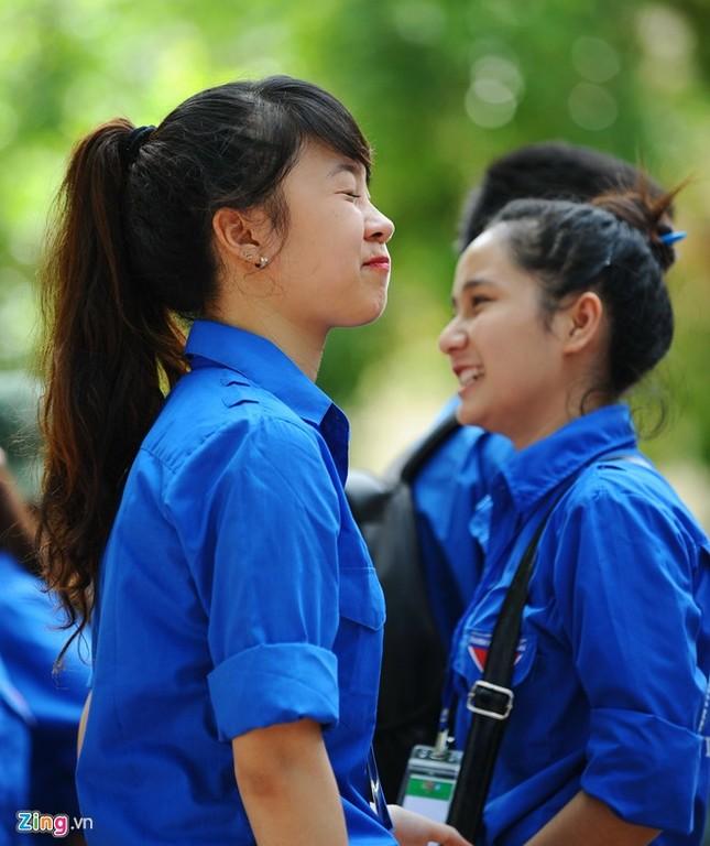 Dàn nữ sinh tình nguyện xinh đẹp của HV Hành chính ảnh 7