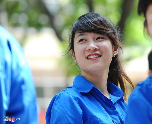 Dàn nữ sinh tình nguyện xinh đẹp của HV Hành chính ảnh 9