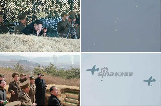 [ẢNH] Ông Kim Jong-un thị sát tập trận đánh chìm tàu sân bay ảnh 5