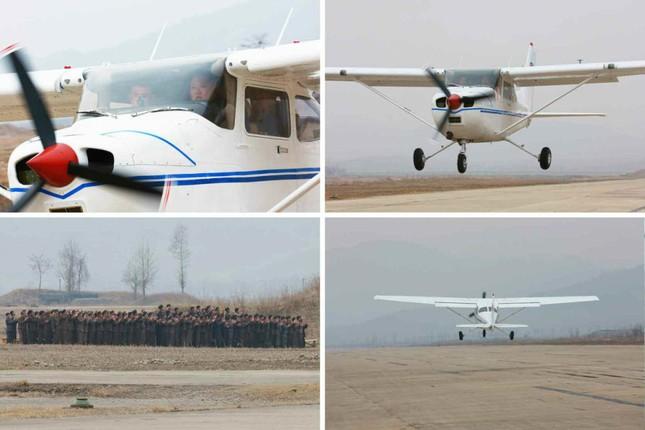 [ẢNH] Ông Kim Jong-un thử nghiệm máy bay nội địa ảnh 6