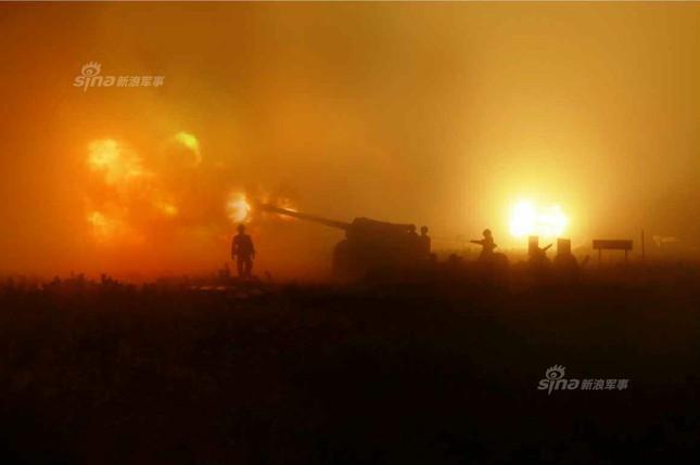 Pháo binh Triều Tiên đồng loạt khai hỏa trong đêm ảnh 3